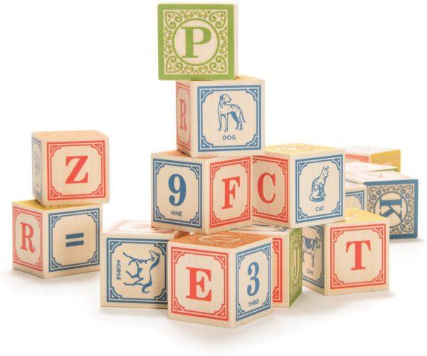 28 Block Classic Alphabet Set