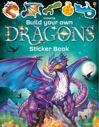 Build Your Own Dragons Stickerbook
