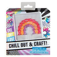 Chill Out & Craft String Art