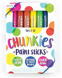 Chunkies Paint Sticks (12)