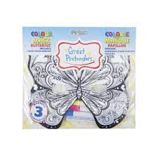 Color a Mask Butterfly