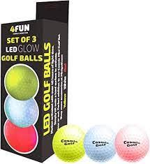 Cosmic Glow Golf Balls
