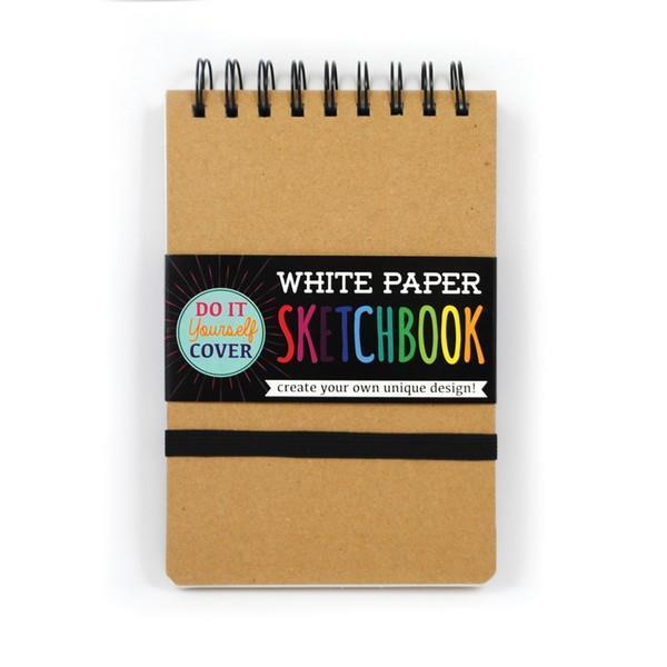 DIY Sketchbook White Paper