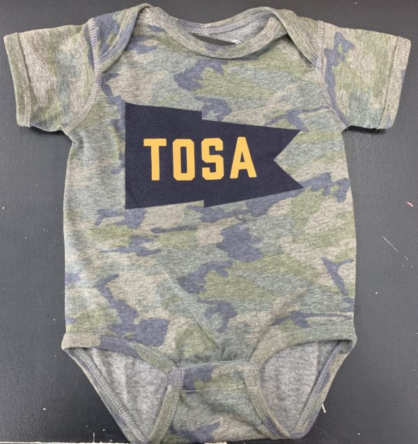 Team Tosa Camo Onesie