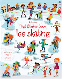 Ice Skating First Sticker Book