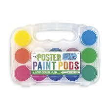Lil' Paint Pods Poster Paint