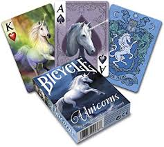 Playing Cards Anne Stokes Unicorns
