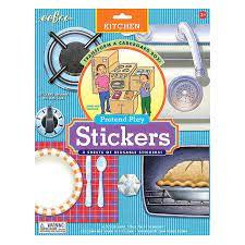 Pretend Play Stickers
