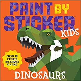Sticker By Number Dino