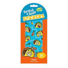 Taco Scratch & Sniff Stickers