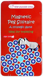 To Go Magnetic Peg Solitaire