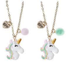Unicorn BFF Necklace Set