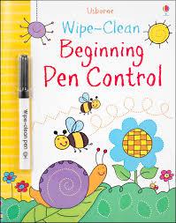Wipe Clean Beginning Pen Control