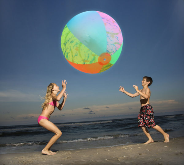"36"" Aqua Glow LED Beach Ball"