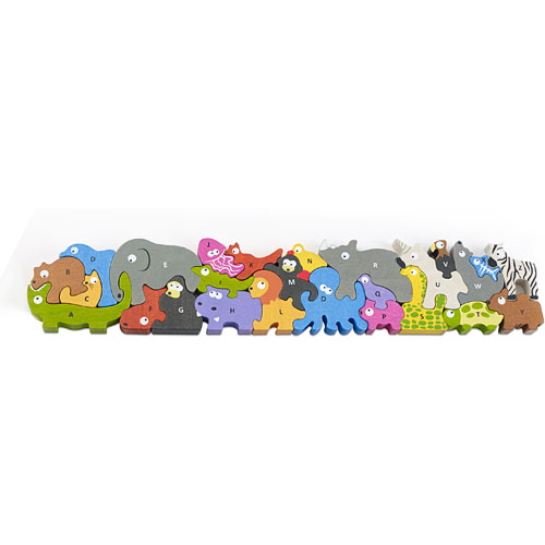 Animal Parade A to Z - Jumbo Version