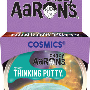 "Infinite Nebula 4"" Cosmic Glow-in-the-Dark Thinking Putty"