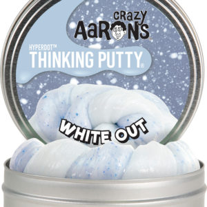 "Whiteout 4"" Hyperdot Thinking Putty"
