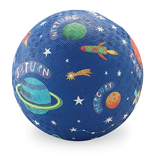 Crocodile Creek Solar System Blue Playground Ball 5 inches