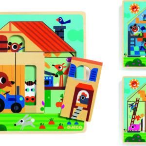 Wooden Puzzles Chez Gaby