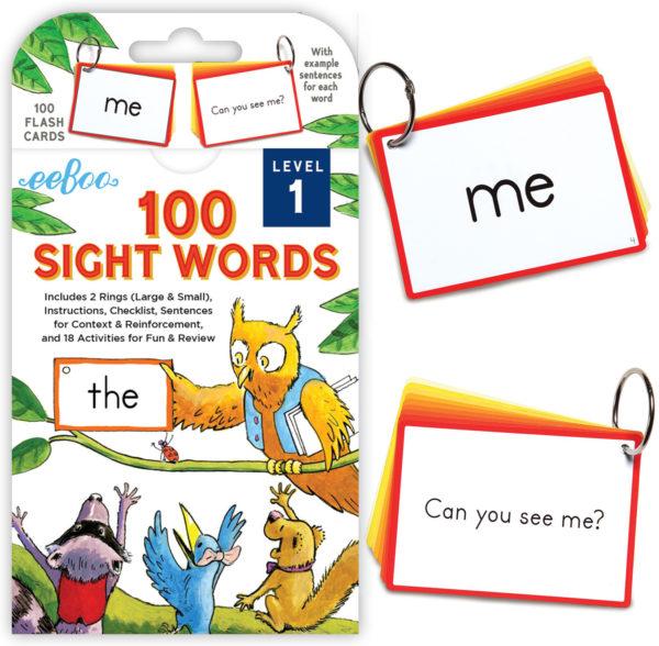 100 Sight Words Level 1