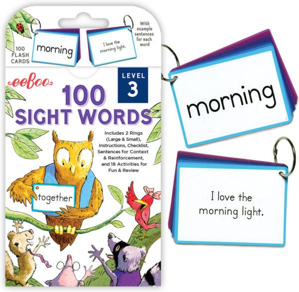 100 Sight Words Level 3