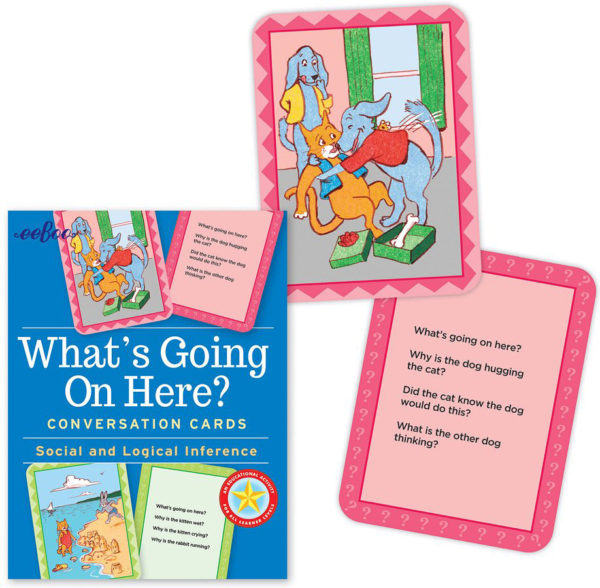 What's Going On Here? Conversation Cards