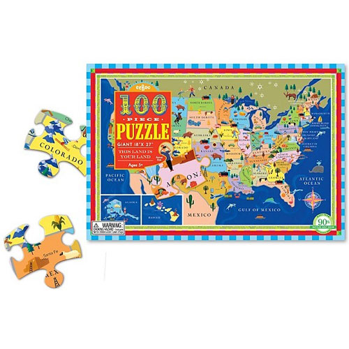 This Land Is Your Land 100 Piece