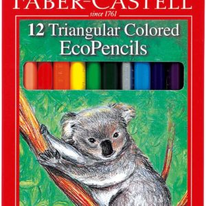 12 ct Triangular Colored EcoPencils