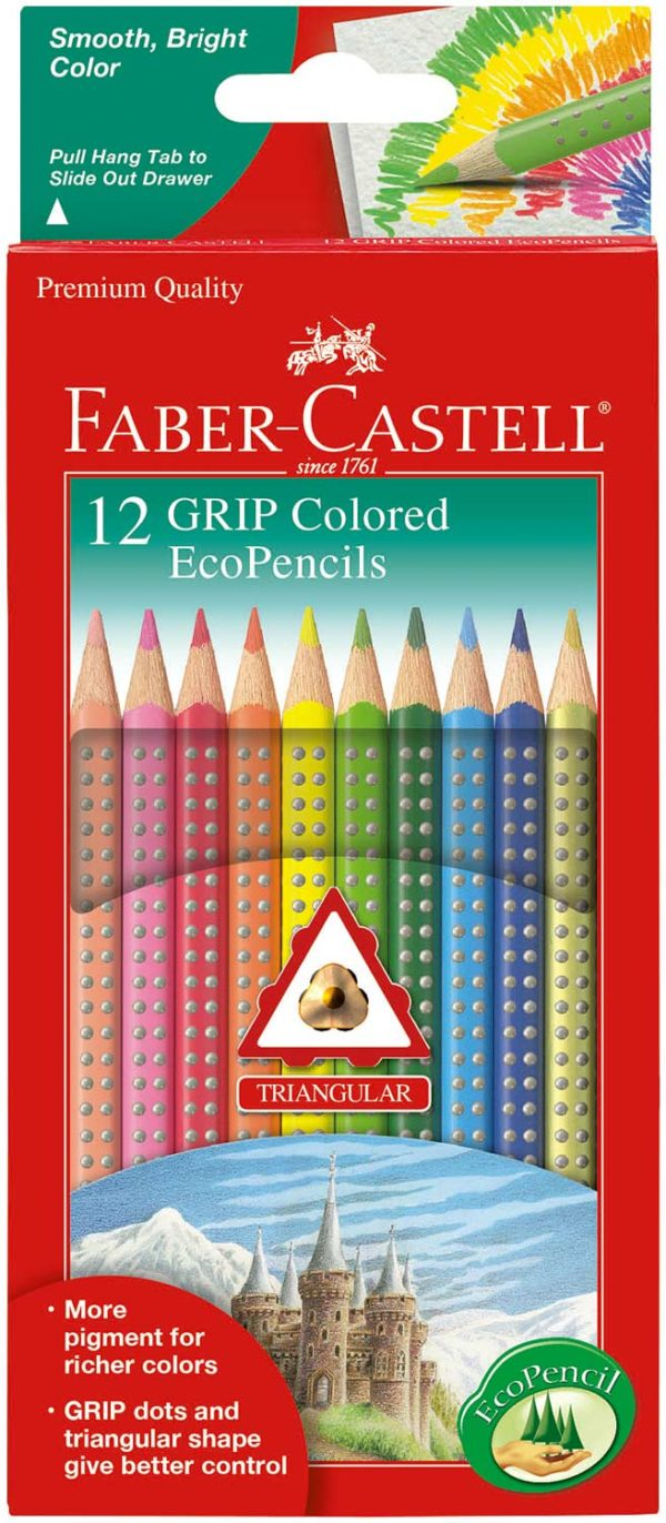 12 ct GRIP Colored EcoPencils
