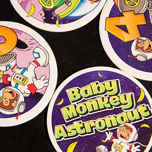 Baby Monkey Astronaut