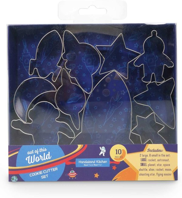Out of This World Cookie Cutter 10 Piece Boxed Set