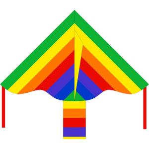 "Eco: Simple Flyer Rainbow 85cm 33"""