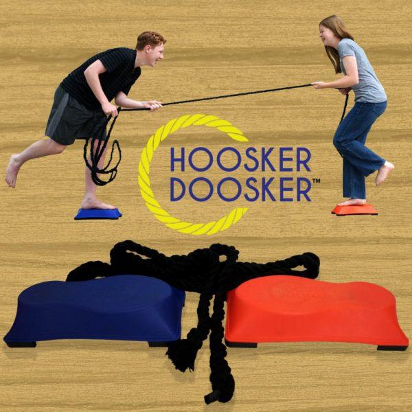 Hoosker Doosker Tug of War - The Game of B.S. - Balance and Skill