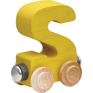 Nametrain Bright Color Letter S