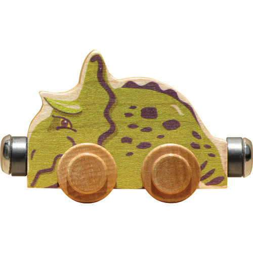 Nametrain Spike the Triceratops
