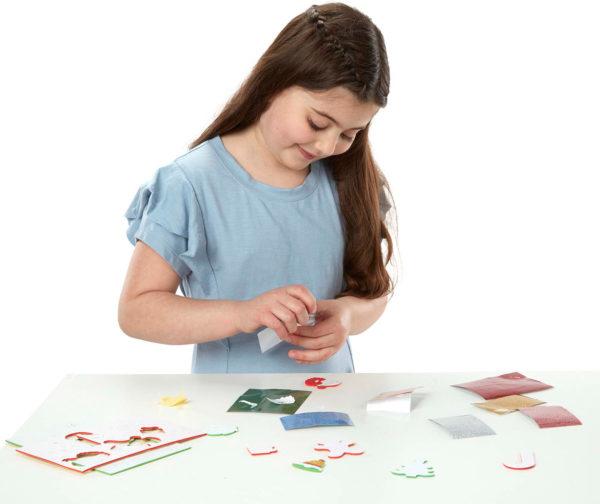 Mess Free Glitter - Christmas Stickers
