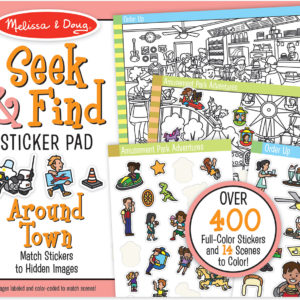 Seek & Find Sticker Pad - Around Town