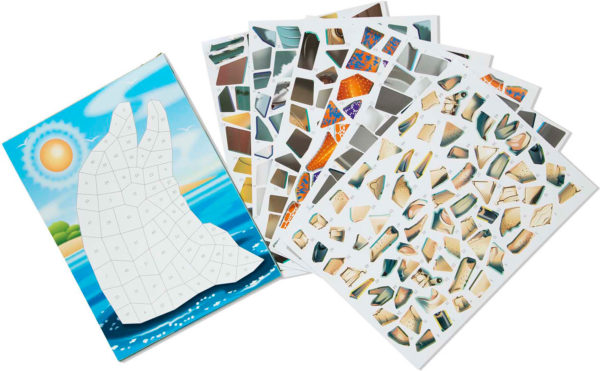 Mosaic Sticker Pad - Ocean