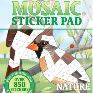 Mosaic Sticker Pad - Nature