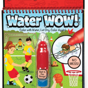 Water Wow! Sports Water-Reveal Pad - On the Go Travel Activity