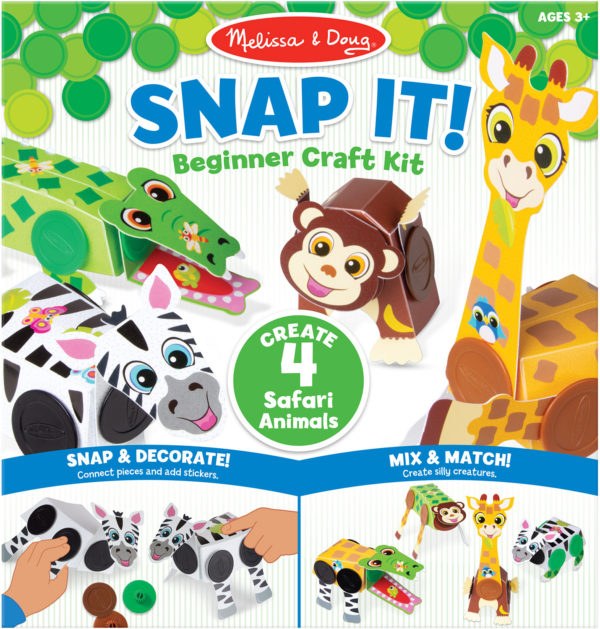 Snap It! Beginner Craft Kit - Safari