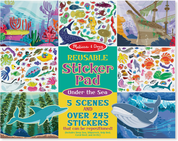 Reusable Sticker Pad - Under the Sea