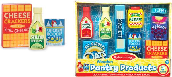 Pantry Food Set - Wooden Play Food