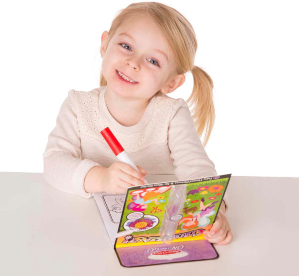 On the Go ColorBlast No-Mess Coloring Pad - Fairies