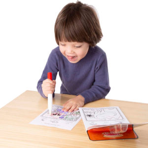 On the Go ColorBlast No-Mess Coloring Pad - Dinosaurs