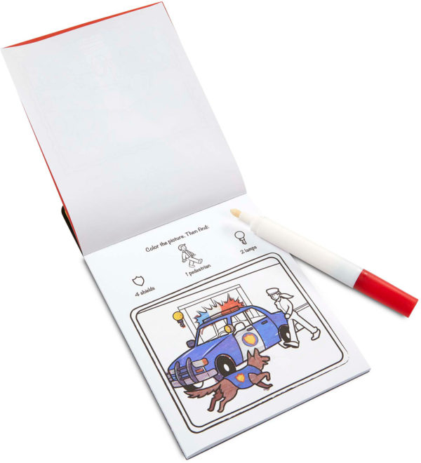 On the Go ColorBlast No-Mess Coloring Pad - Vehicles