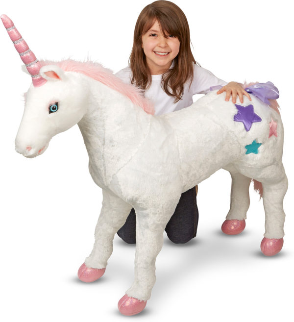 Unicorn Jumbo Stuffed Animal