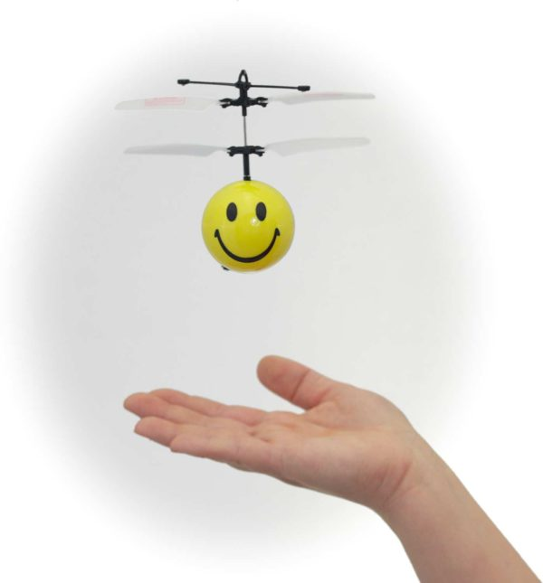 Mini Flyer Smiley (Plastic Box)