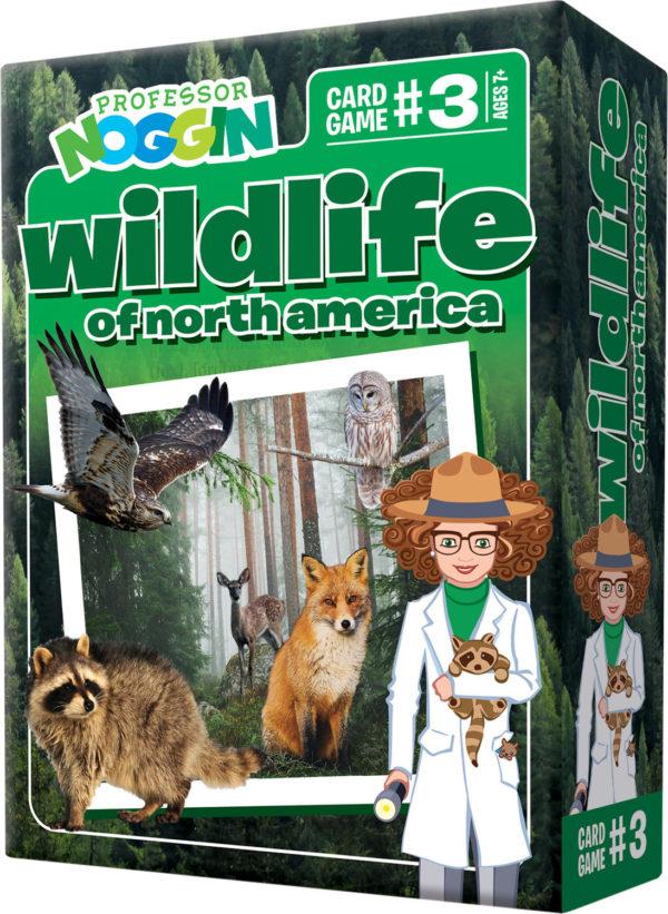 Prof. Noggin Wildlife Of North America