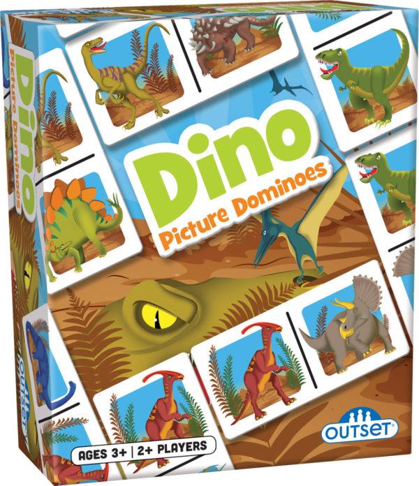Picture Dominoes: Dino